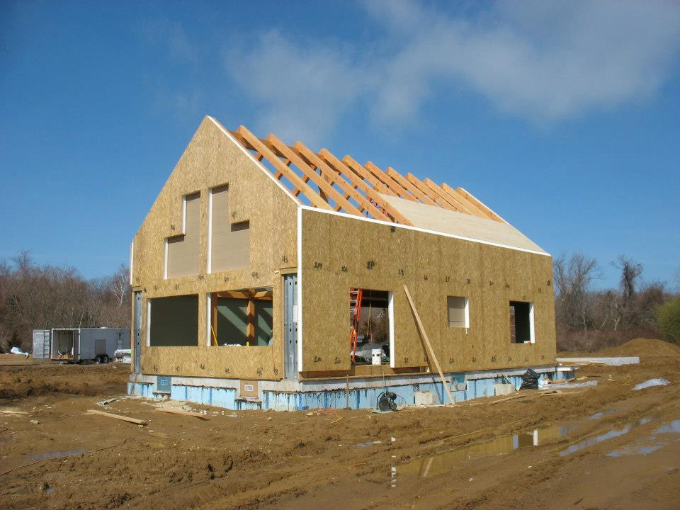 Create an energy efficient timber frame and post and beam home for Building a house with sip panels