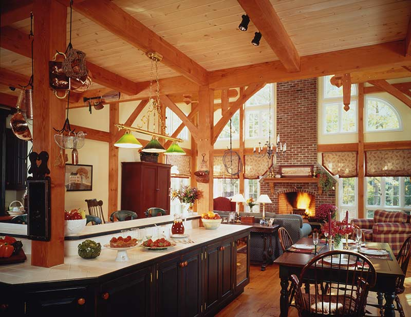 Open Concept House Plans open floor house plans open concept plan hwbdo75390 traditional house plan from Open Concept House Plans Pretty Bungalow House History On On Open Concept Post And Beam House