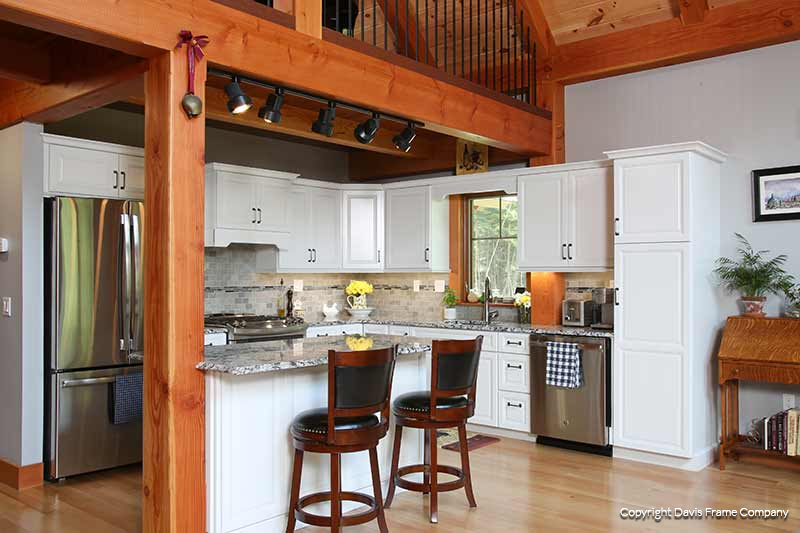 kitchen photo gallery davis frame post and beam plans