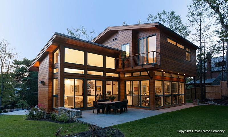 Custom Homes Photo Gallery | Davis Frame Post and Beam Plans