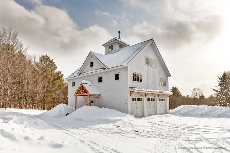 Vermont Timber Frame Barn Home
