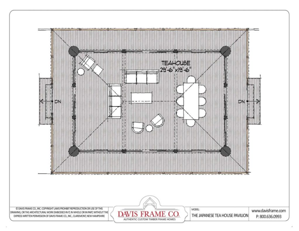 japanese house floor plans japanese timber frame tea house discover this timber frame plan 6904