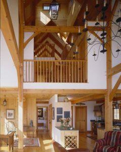 barn home open floor plan