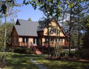 2000 square foot timber frame home