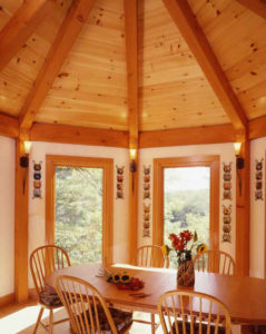 octagon timber frame
