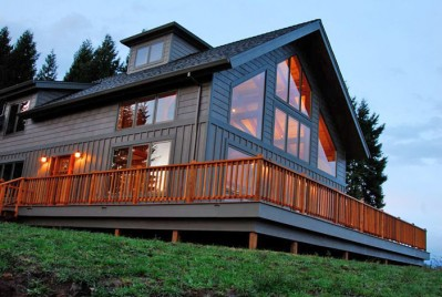 Oregon Timber Frame Home in Wine Country!