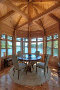 lakeside timber frame