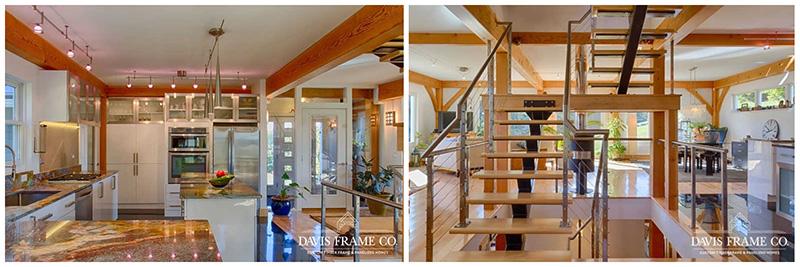 modern barn home living