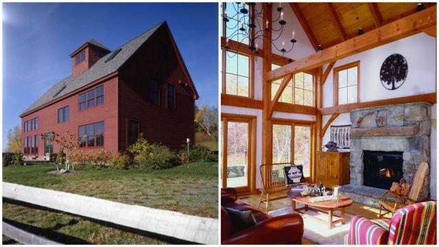 country barn home