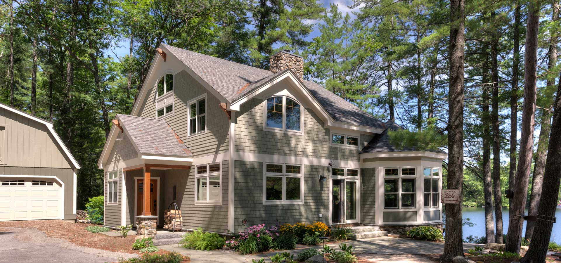 energy efficient timber frame home nh