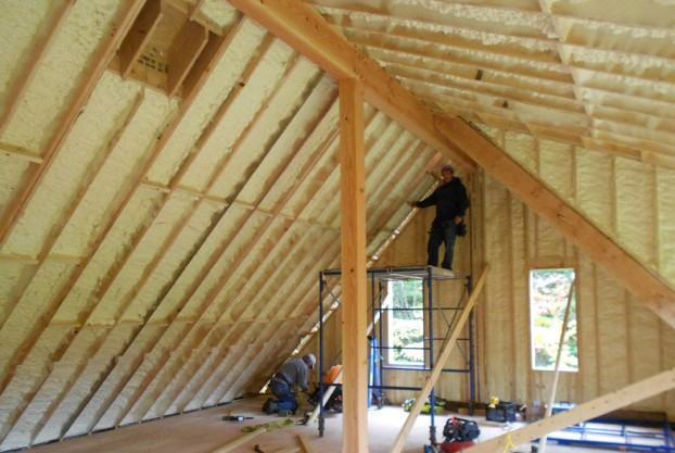 Insulation options for your new timber frame or panelized home for New home insulation
