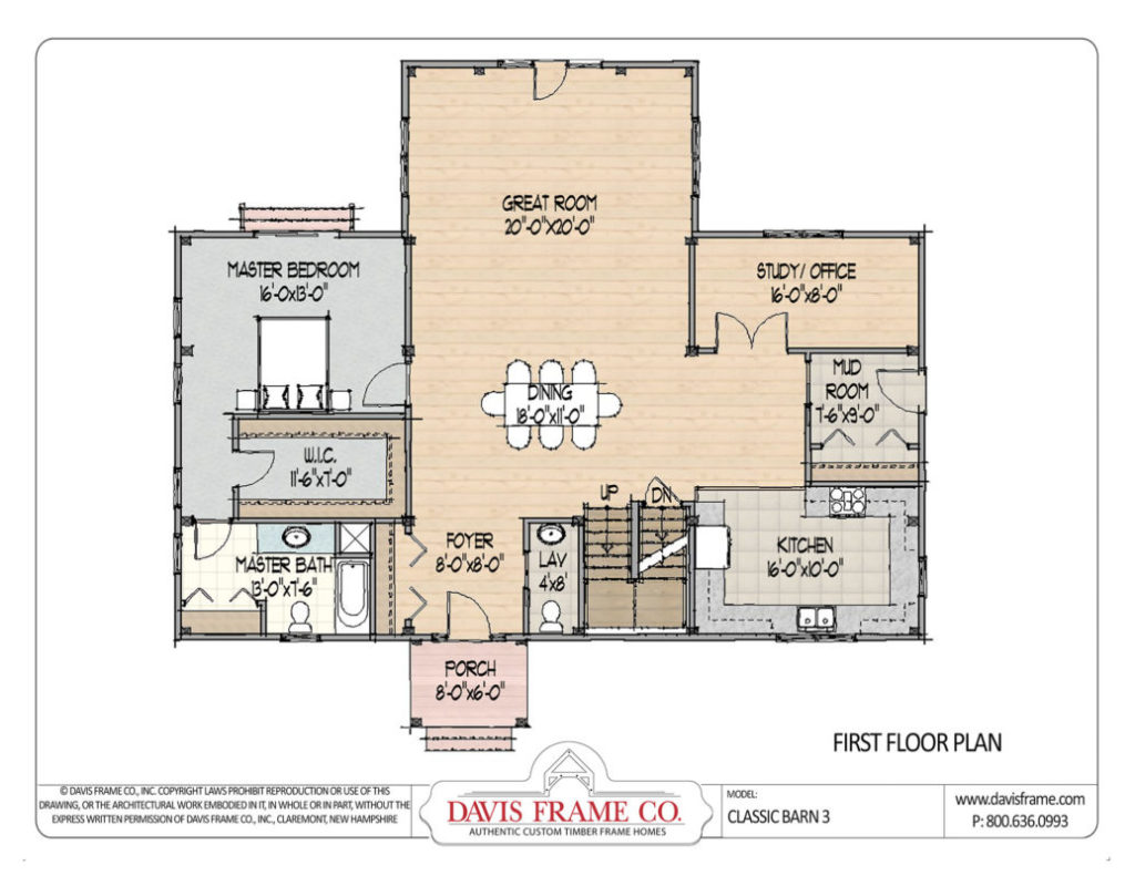 timber frame floor plan