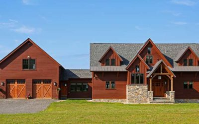Timber Frame Plan With 3 Architectural Styles