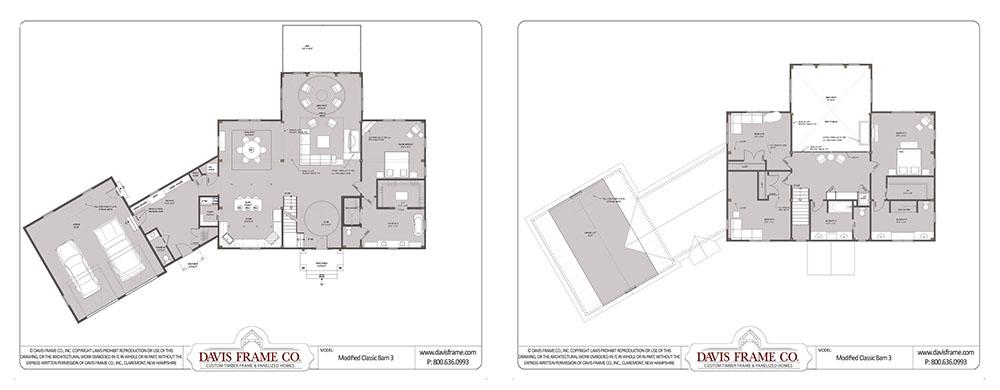timber frame home plan