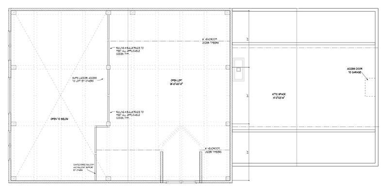 small craftsman timber frame floor plan