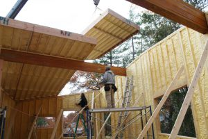 panelized wall and roof panels