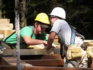 young timber frame builders