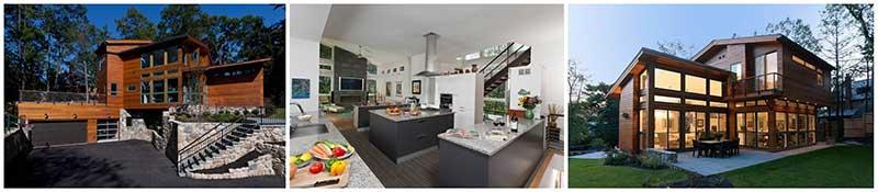 modern prefab home
