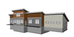 Modern Shed Roof Home Design Davis Frame