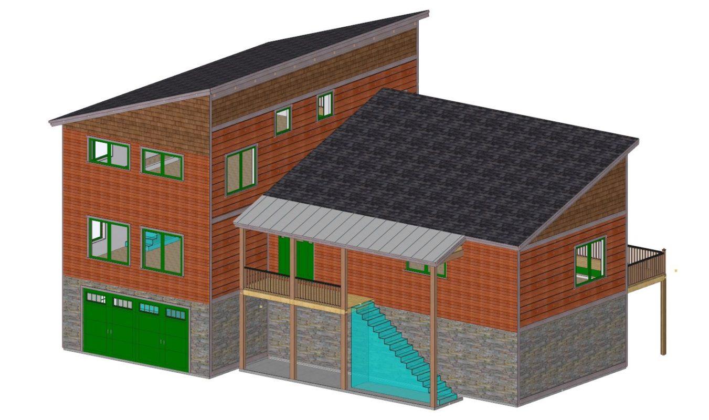 Modern prefab home design ideas by davis frame company for Modern prefab home designs