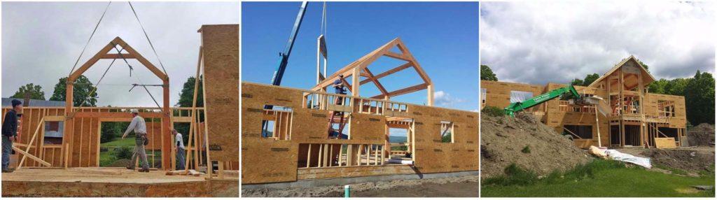 hybrid vermont timber frame