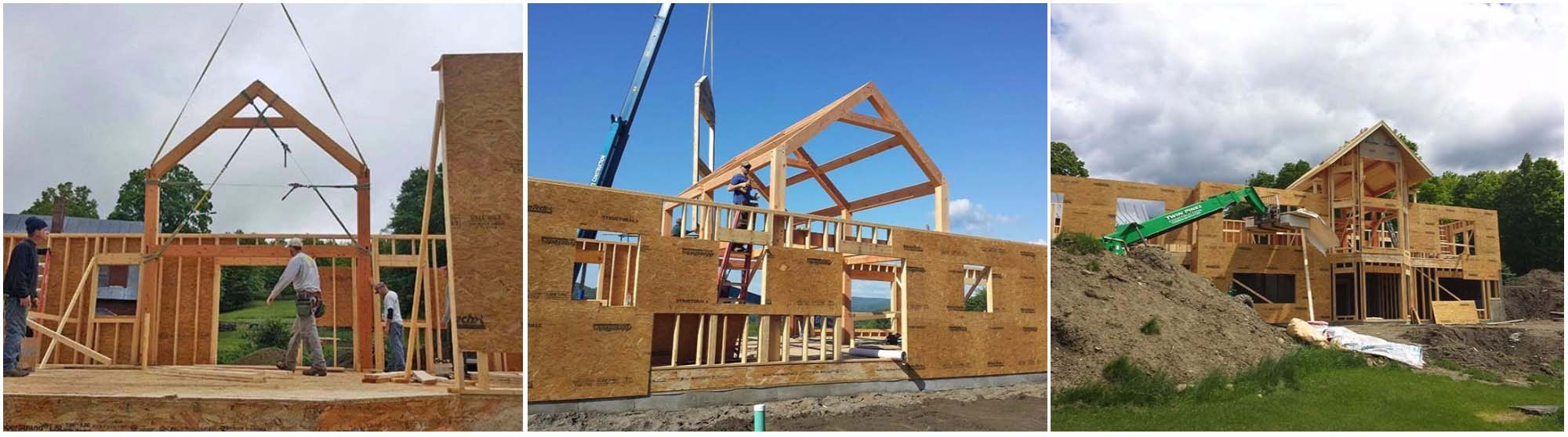 A Touch of Timber Frame - Hybrid Timber Frame Construction