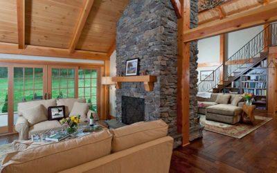 Beautiful Timber Frame Great Rooms