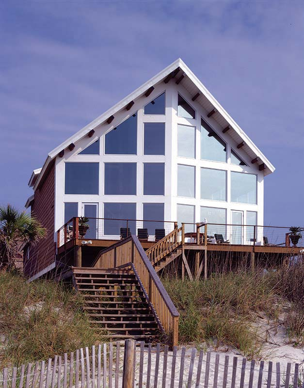 myrtle beach timber frame home