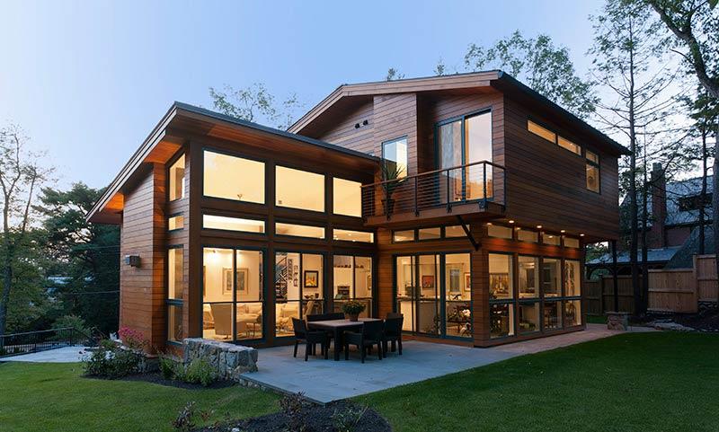 prefab modern home