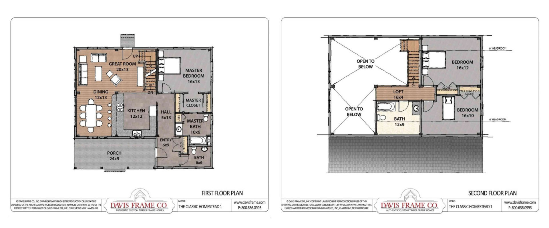 Most Requested Timber Frame Floor Plans - Check Them Out!