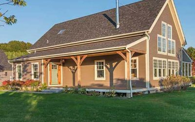 Beautiful North Fork Timber Frame Home