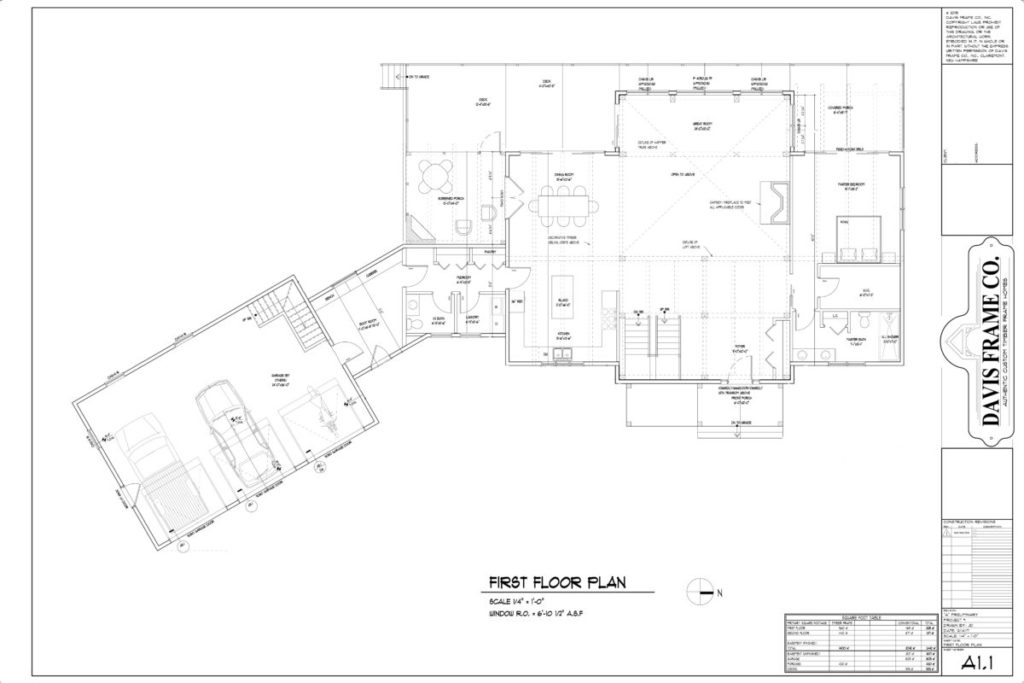 timber frame floor plan 3,000 square feet