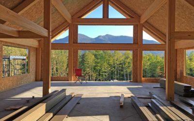 Timber Framing with Modern Glulam Beams