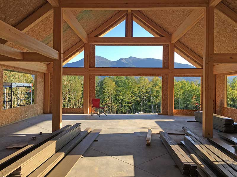 Timber Framing with Modern Glulam Beams
