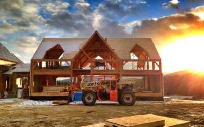 The Benefits of Building a Home in the Winter