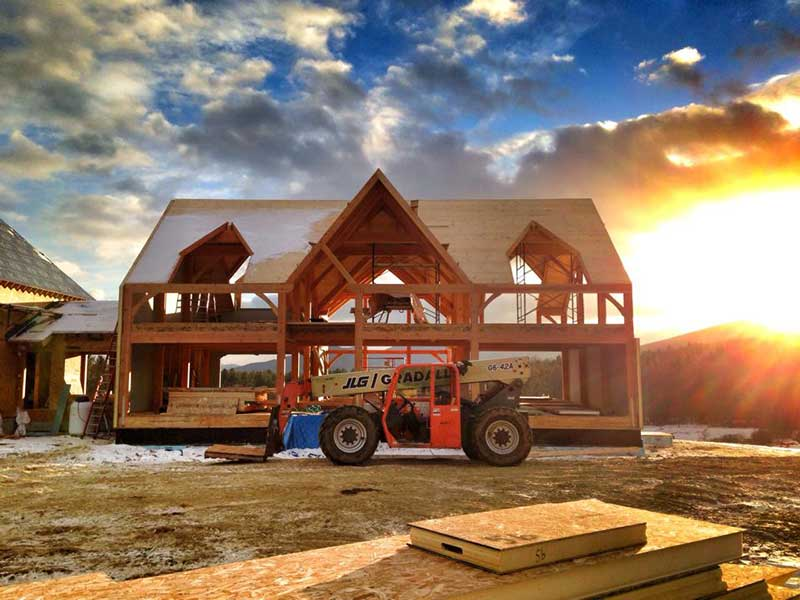 The Leading Benefits of Winter Home Building
