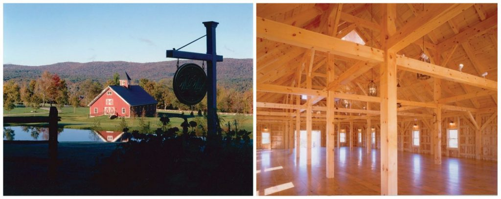 wedding barn in vermont