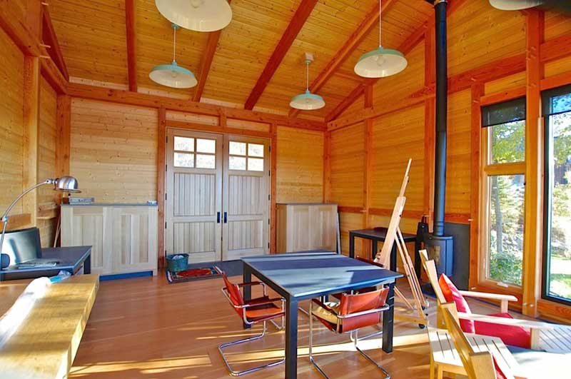 Small Unique Timber Frame Spaces
