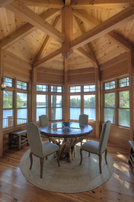 Summer timber frame living