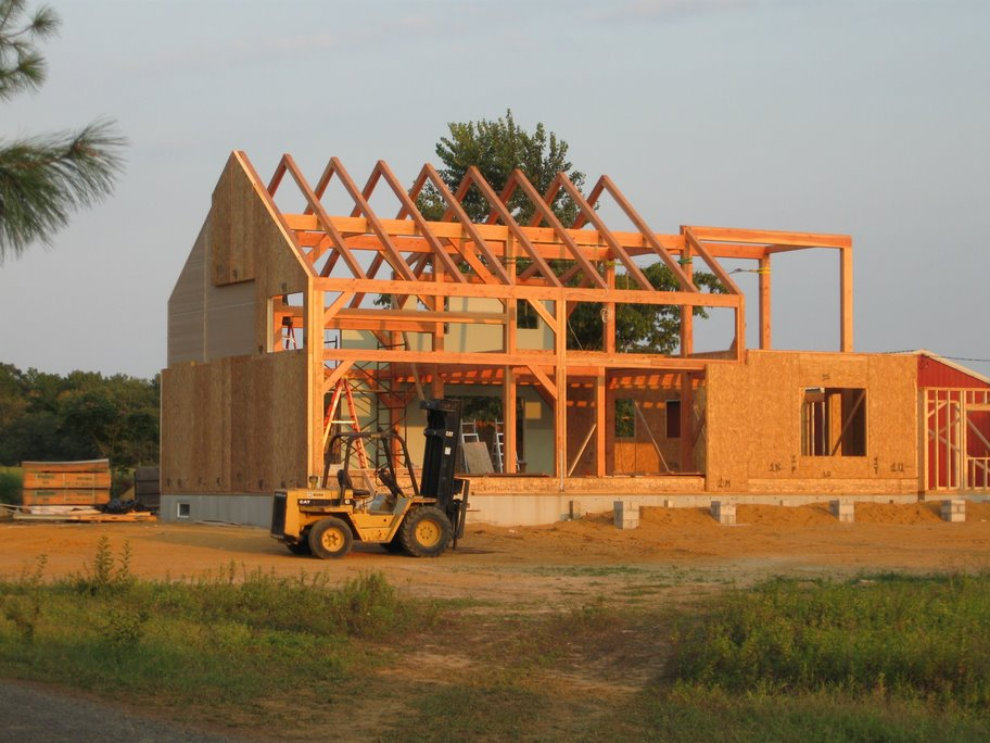 timber frame and sips