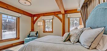 franconia timber frame home