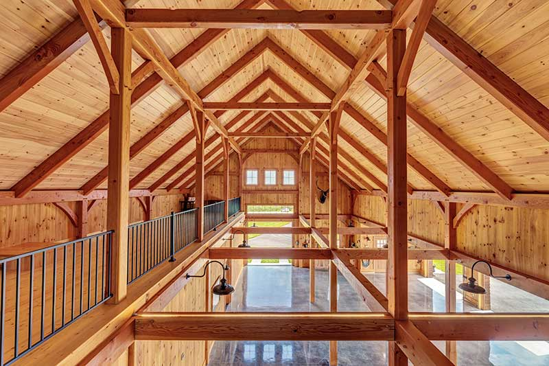 Benefits of Building a Timber Frame Home