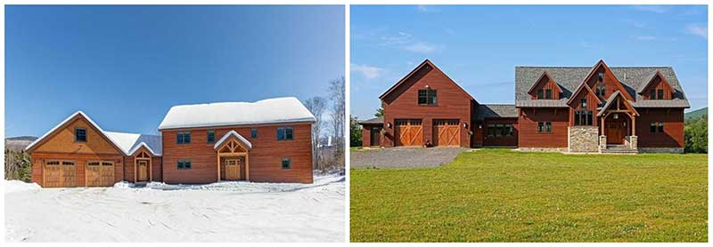 timber frame homes cost