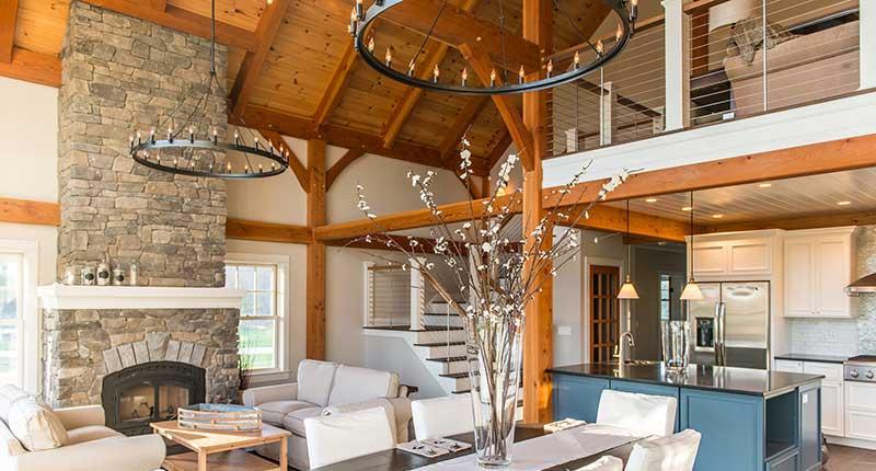 millennial home, open floor plan