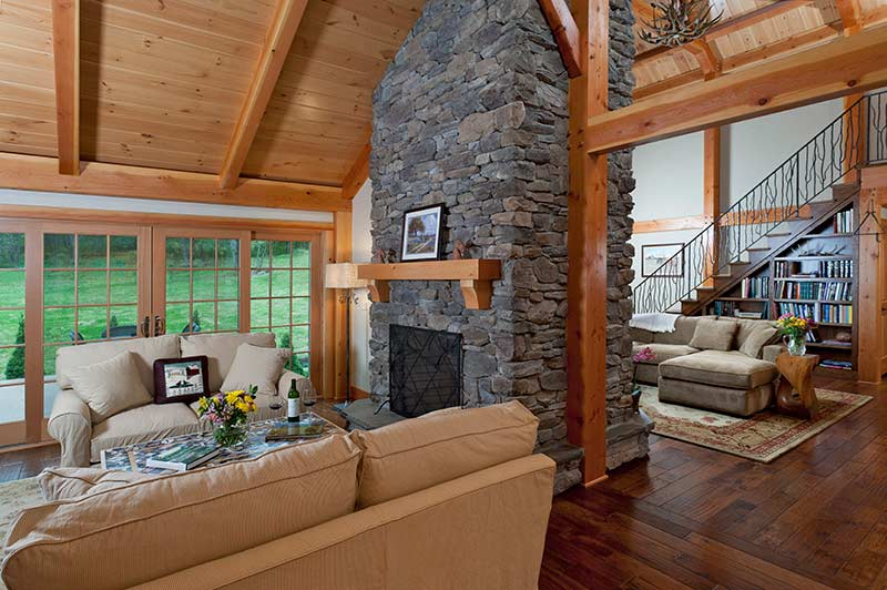 Log Versus Timber Frame Home – What's the Difference?