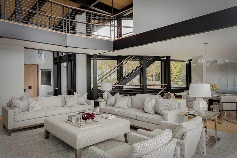 modern interior design vermont