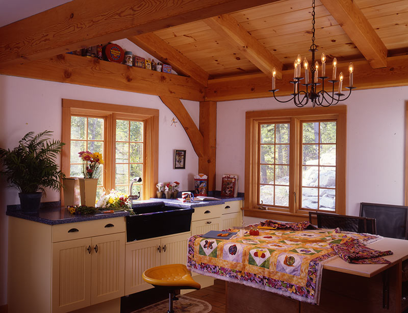 timber frame rooms: craft room