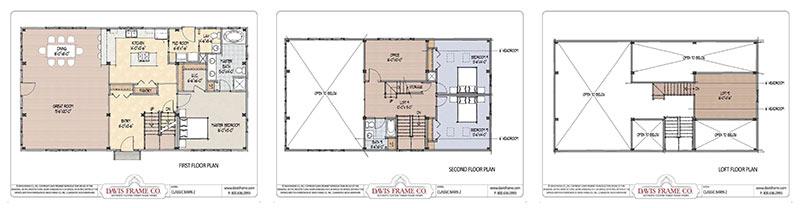 vermont barn home floor plan