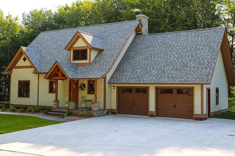 timber frame homes for empty nester