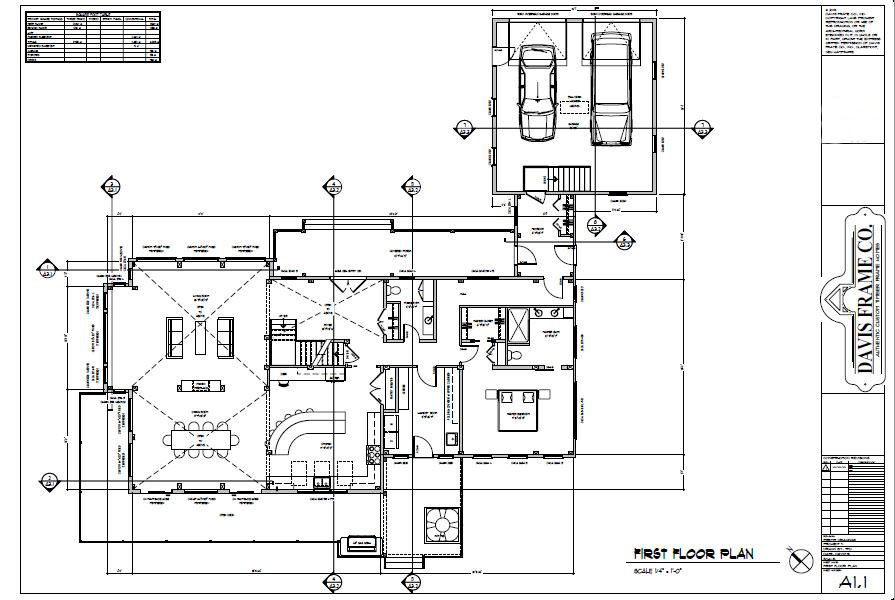 mountainside timber frame plan